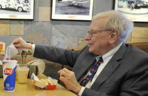 Steve Jordon, Warren Buffett, Berkshire Hathaway Meeting