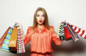 April Benson, Shopaholic