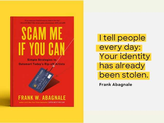 Frank Abagnale, Catch Me If You Can, Scam Me If You Can