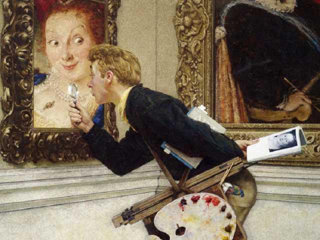 Peter Loughrey, How To Buy Art, Norman Rockwell