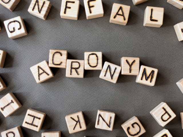 Terry Story, Real Estate Acronyms